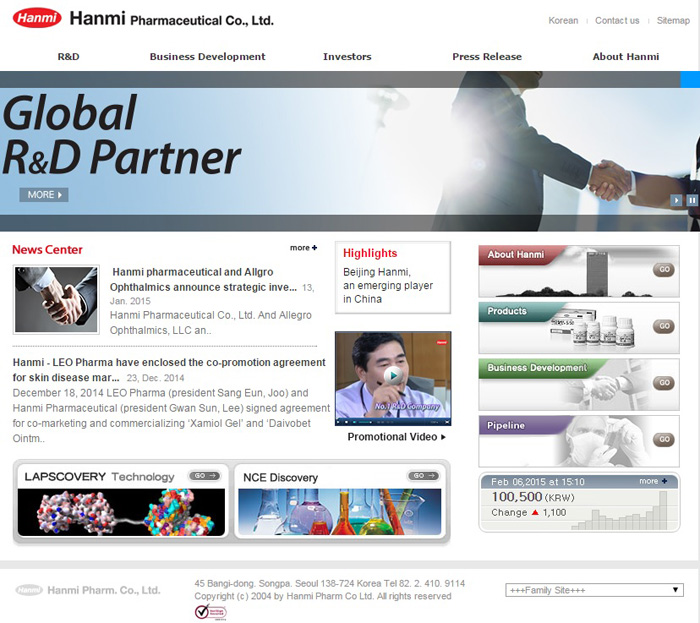 Hanmi Pharmaceuticals Invested the Record High Investment in