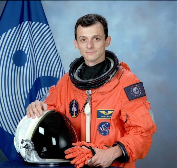 Pedro Duque, Astronaut of the European Space Agency