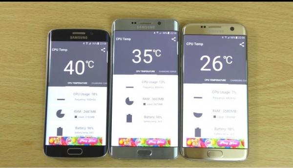 Samsung Galaxy S7 users claim,