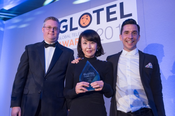 "SK Telecom won the ""Media Service Innovation Award"" at the Global Telecom Awards (GTA) held in London, the U.K. on October 8."