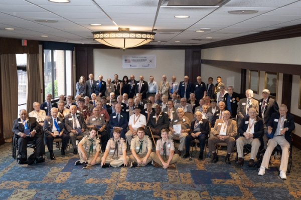 Dongwon Group held a luncheon at the Sheraton Pittsburgh Hotel at Station Square in Pittsburgh on Aug. 13 (local time) to express its gratitude to the Korean War veterans and their families.