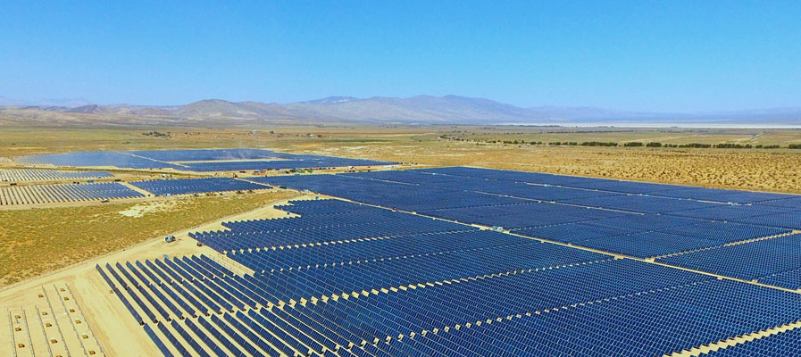 108MW Solar Modules installed by Hanwha Q Cells in California, USA