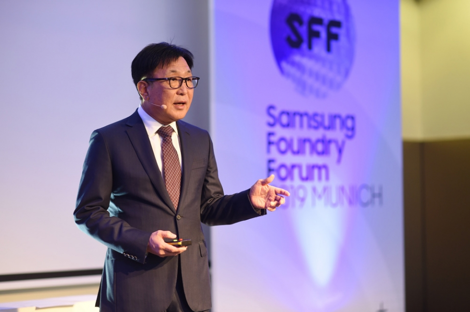 Dr. ES Jung, president and head of foundry business at Samsung Electronics