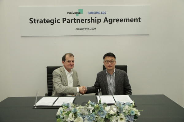 Samsung SDS will develop a blockchain-based mobile settlement platform with Syniverse, a U.S. telecommunications solution provider/ Courtesy of Samsung SDS