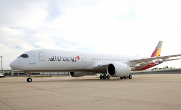 Asiana Airlines A350 aircraft/Courtesy of Asiana