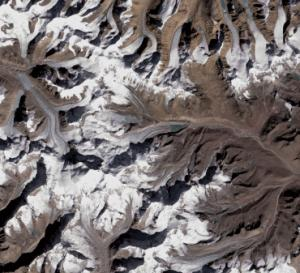 Monitoring from space what's happening: slow flow for glaciers thinning in Asia