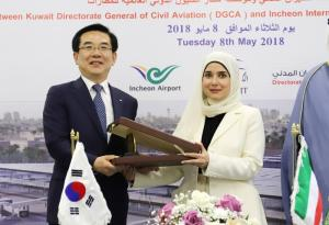 Incheon International Airport Corp. opens Terminal 4 at Kuwait airport