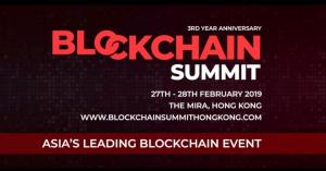 Blockchain Summit Hong Kong 2019 brings together tech giants and start-ups