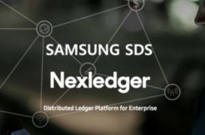 Samsung SDS reveals block chain speed acceleration technology at 'IBM Think 2019'